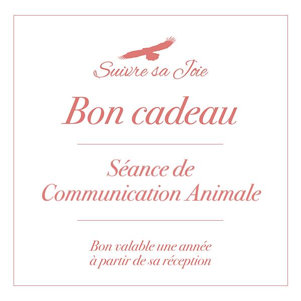 Bon Cadeau - Séance de Communication Animale - Suivre sa Joie