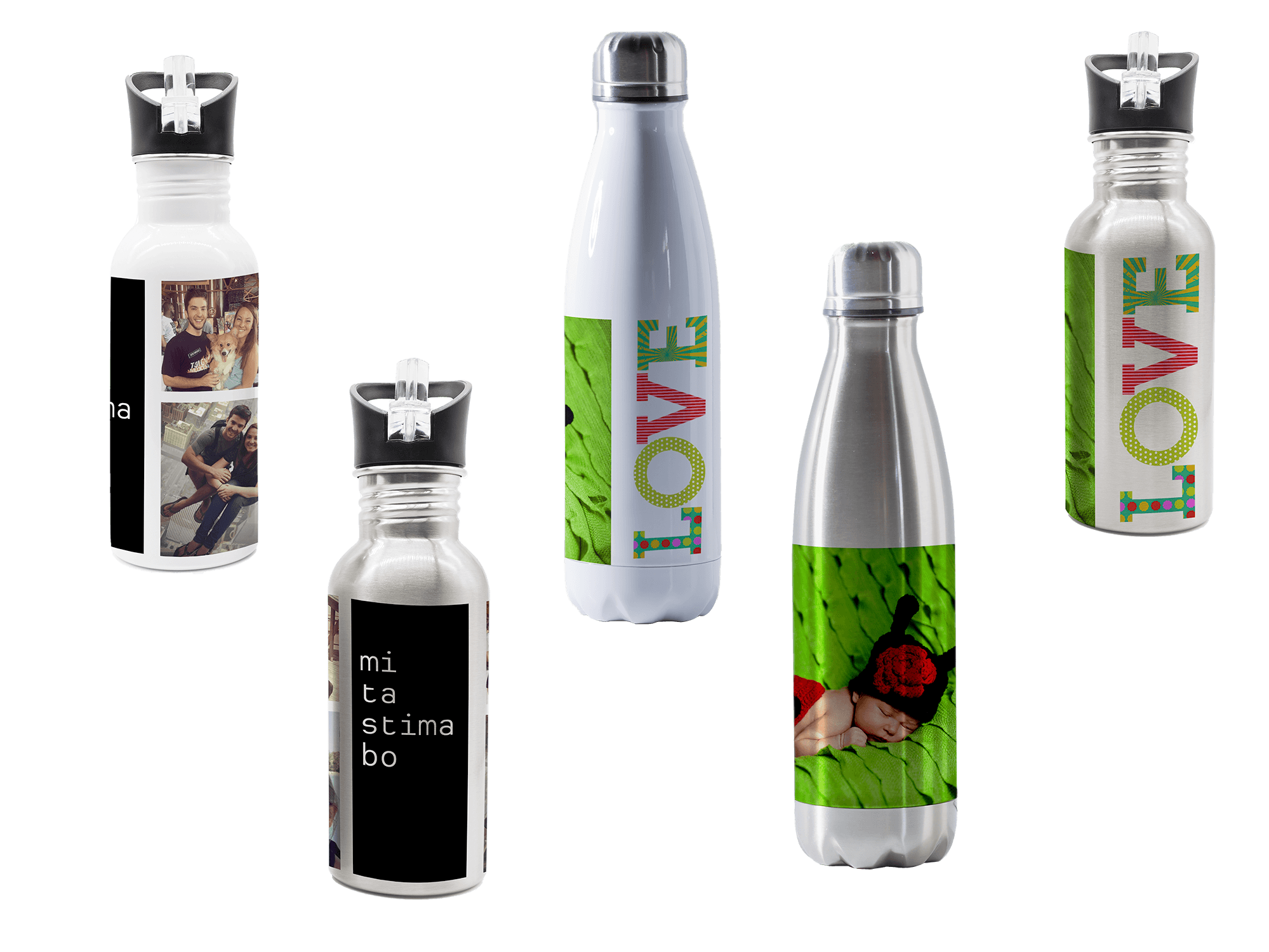 Personalized Water Bottles & Tumblers