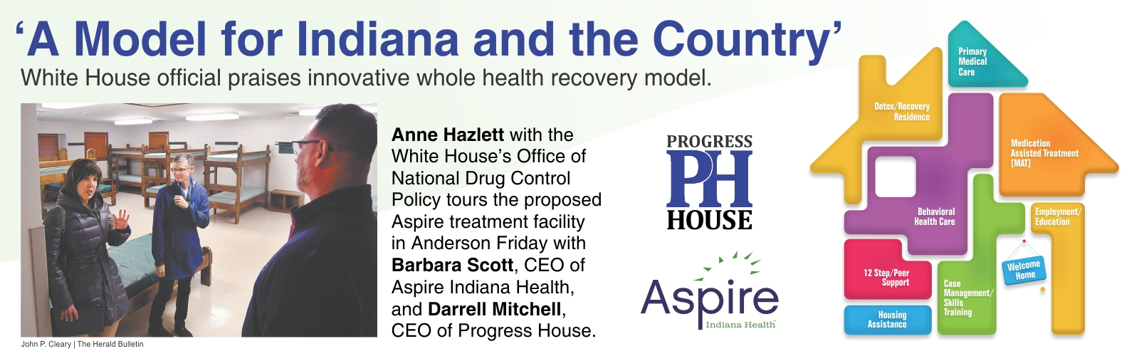 Progress House, an Innovative whole health recovery model