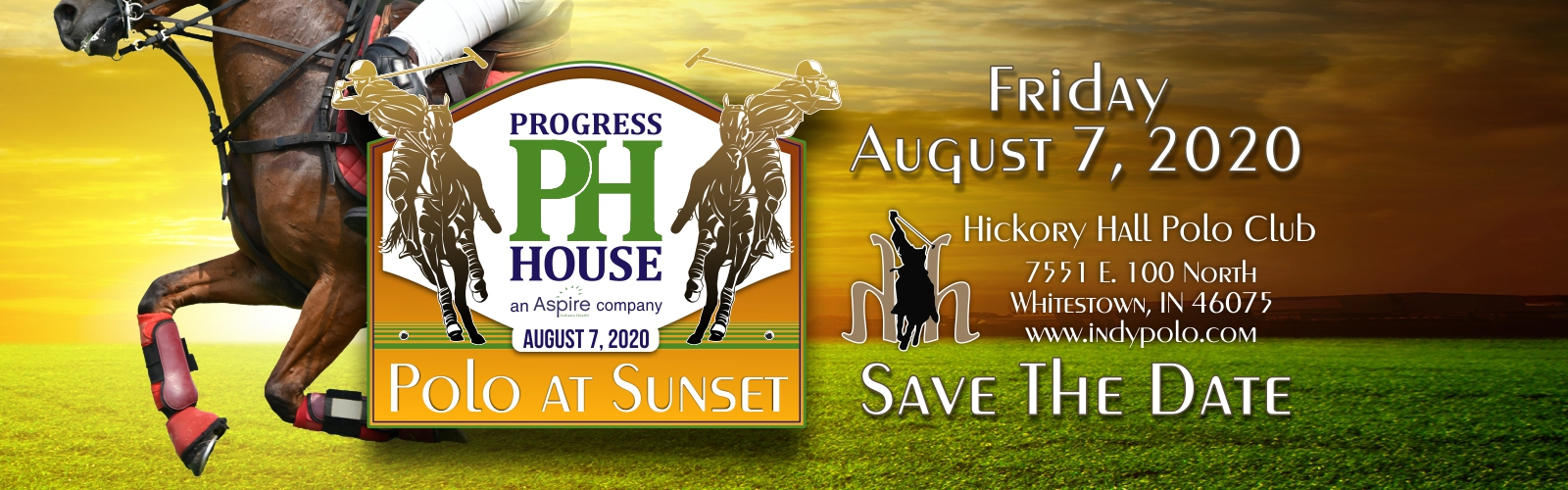 Progress House Polo at Sunset