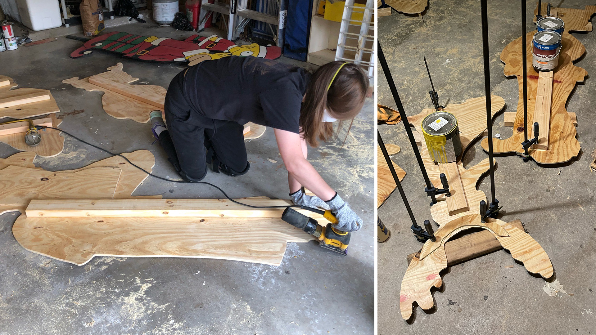 Prepping Wood Example Image