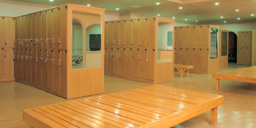 BioSweep completely disinfects school locker rooms