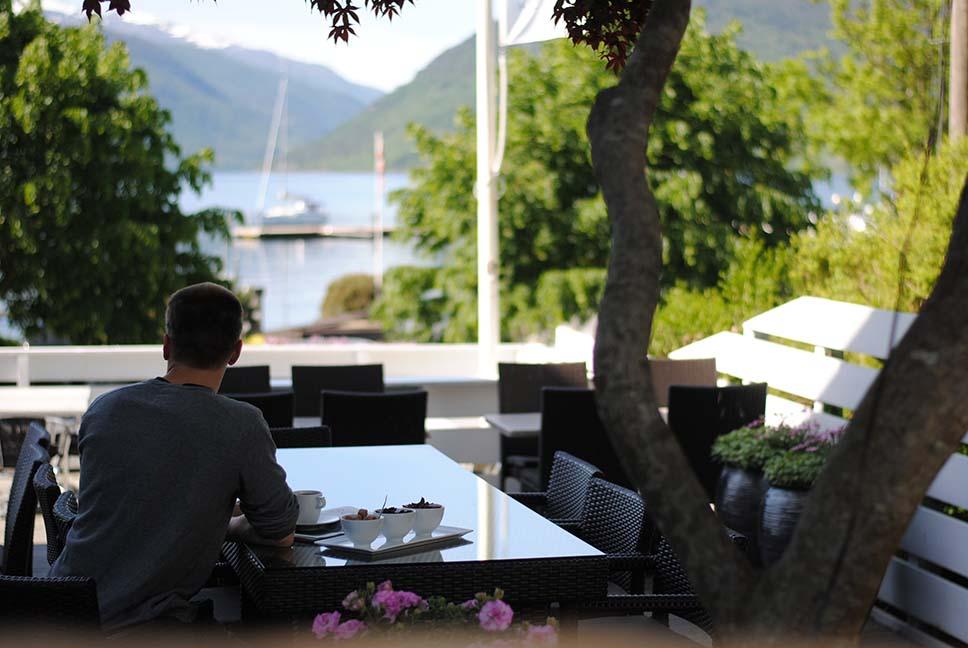 Idyllisk fjordhotell på Vestlandet