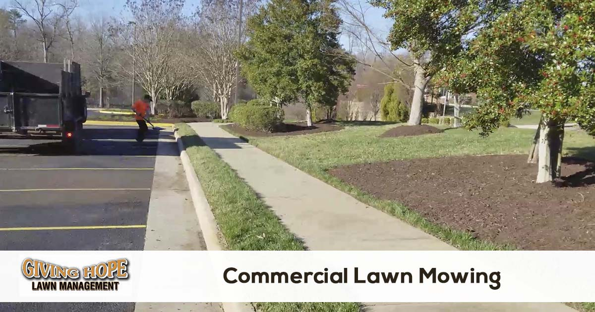 lawn mowing for business