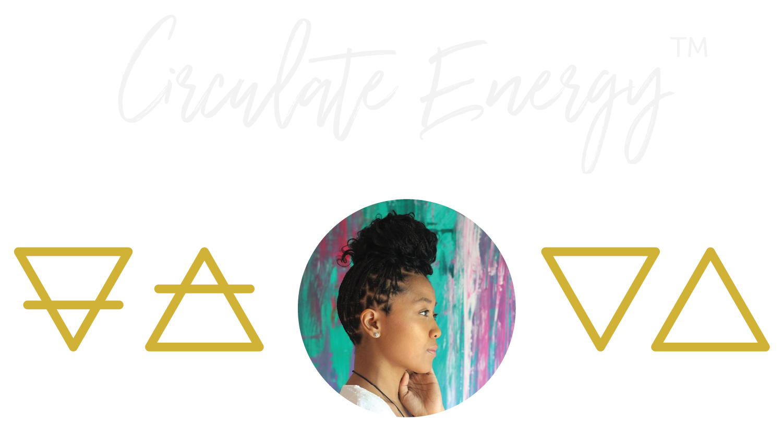 Circulate Energy Logo - Custom Orgonite® Devices