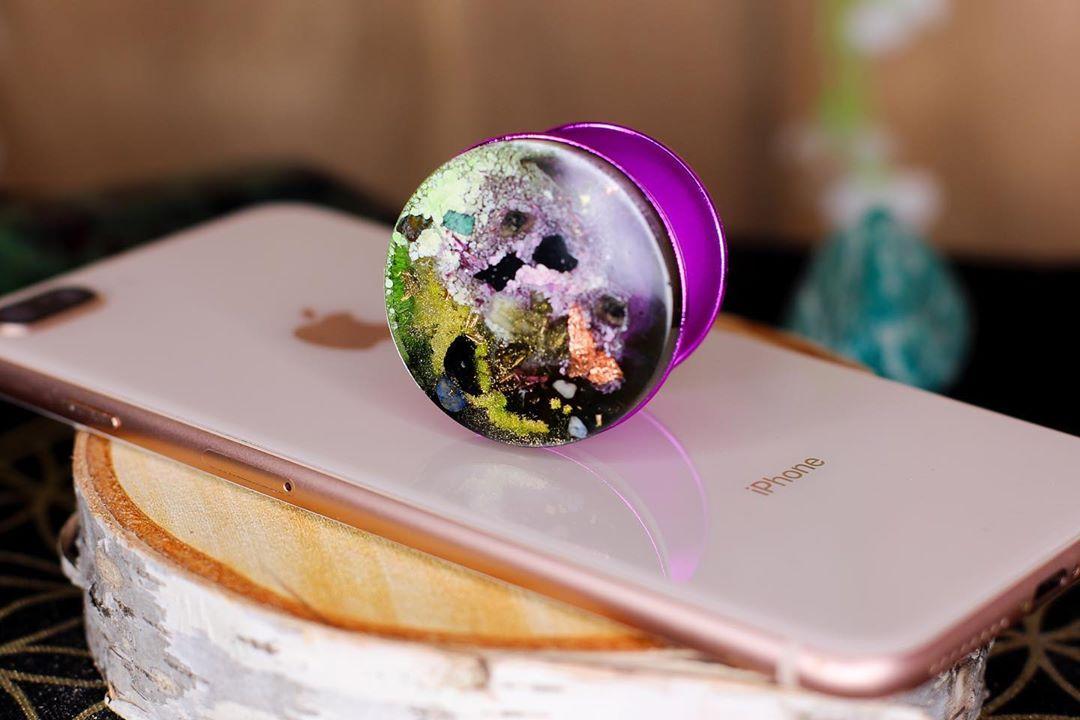 circulate energy custom phone holder  etsy link