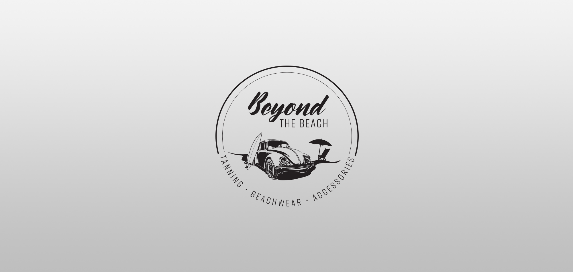 Logo design for Beyond the Beach.