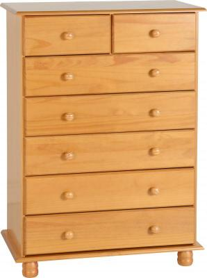 Sol Solid Pine 5+2 Chest