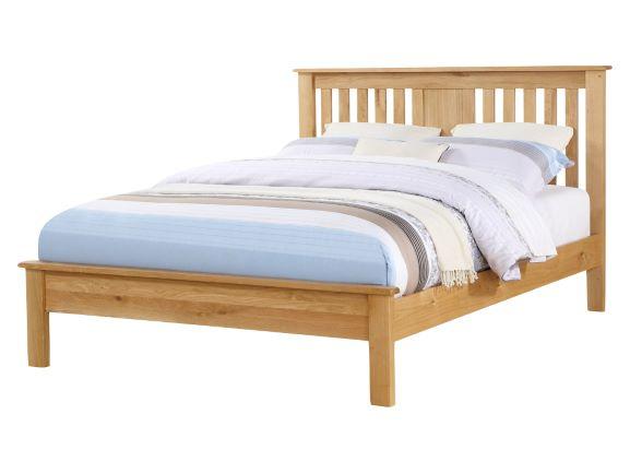 Newbribge Oak Low Foot End Bed