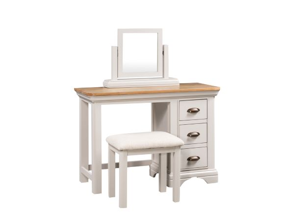 Lyon Painted Dressing Table Set with Mirror