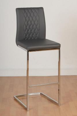 Sienna Grey Bar Stool