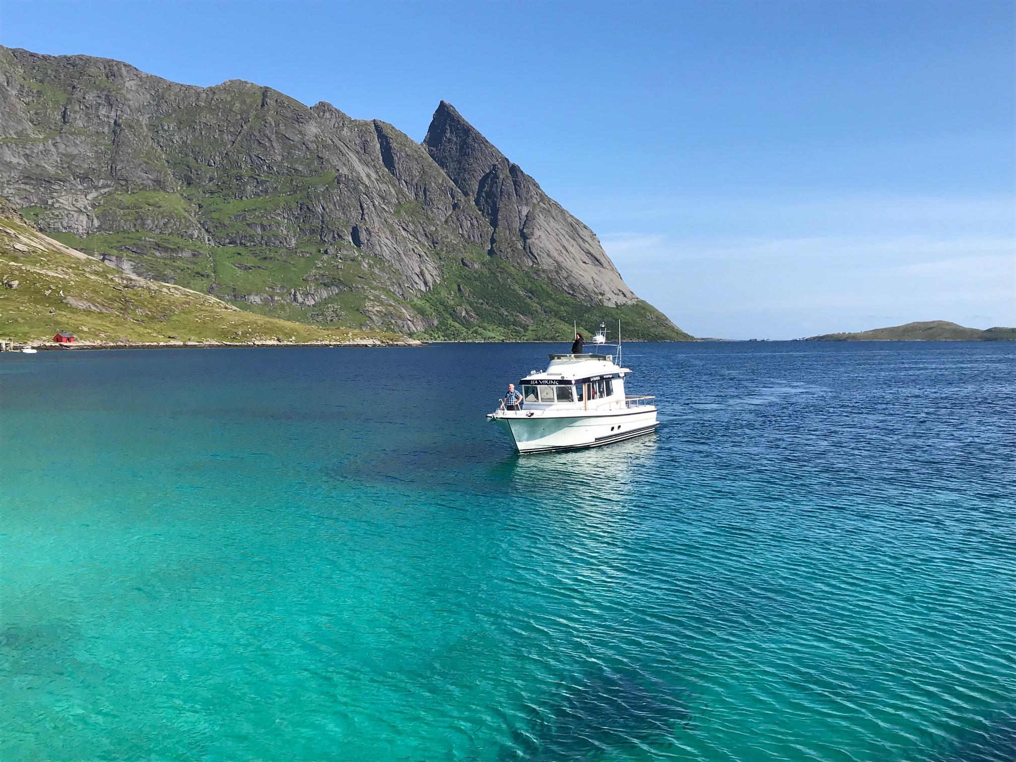 Cruise Reinefjorden