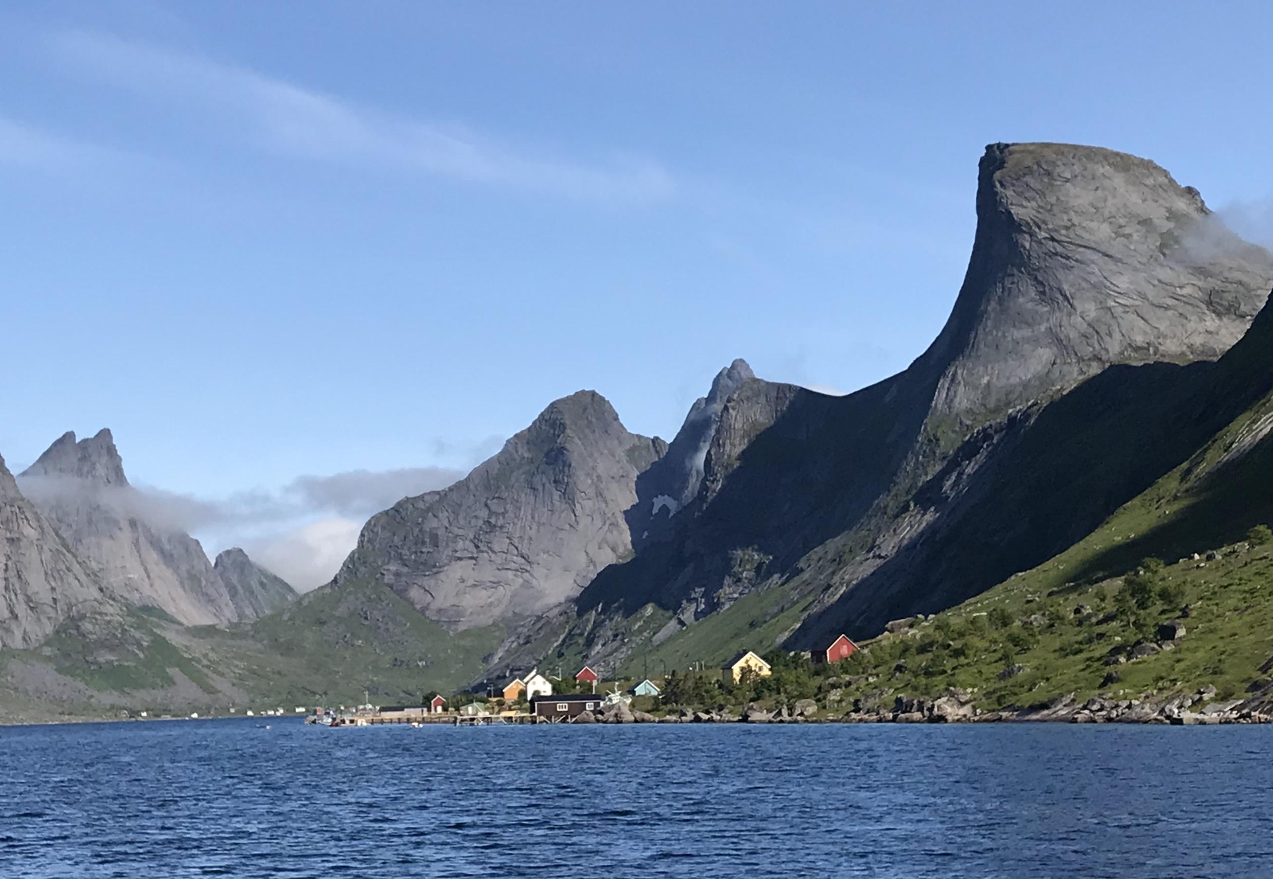 Hamnøy - Vindstad/ Kirkefjorden return trip