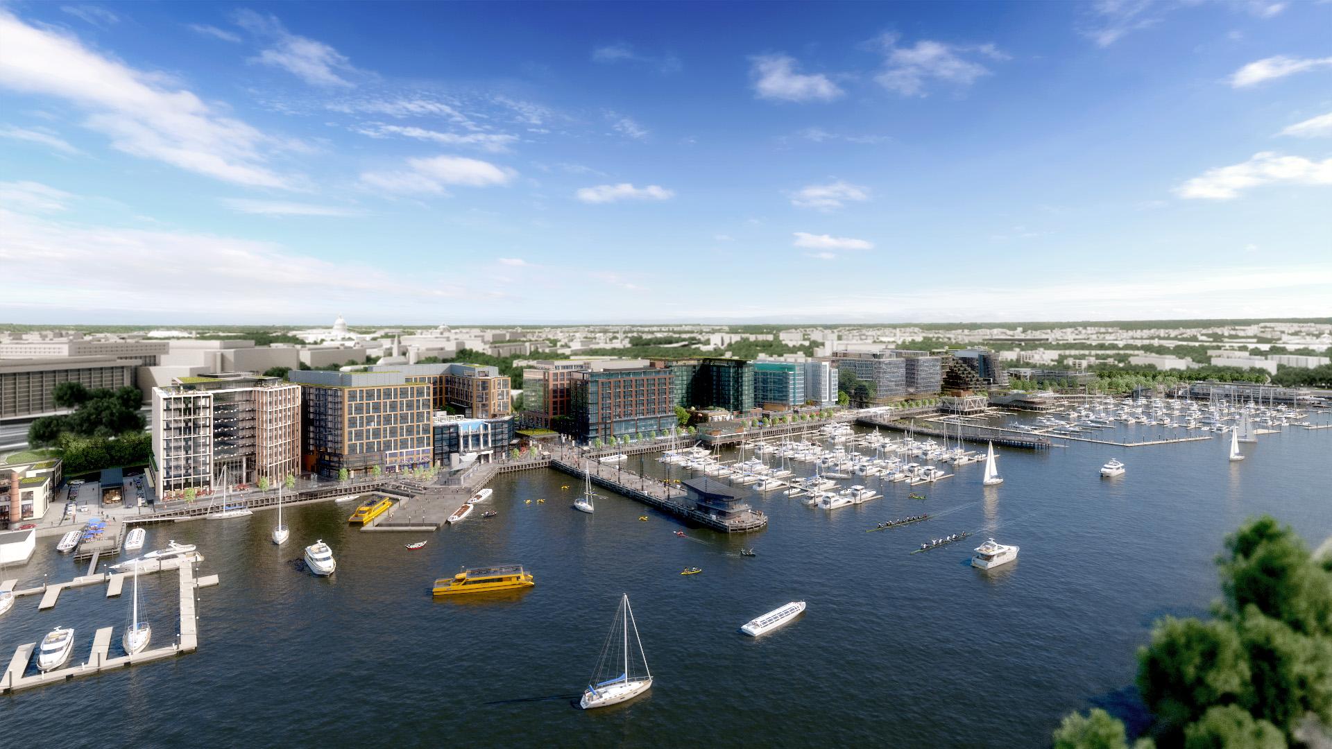 Wharf - Aerial