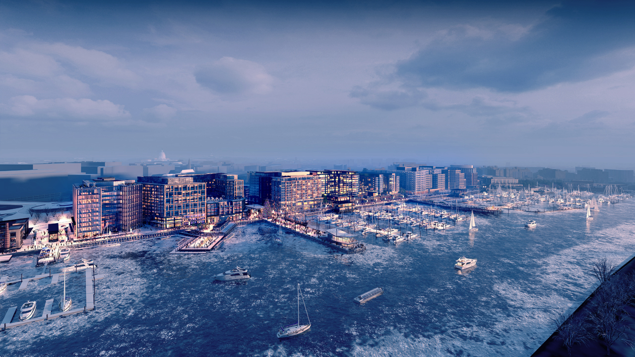 Wharf - Snow