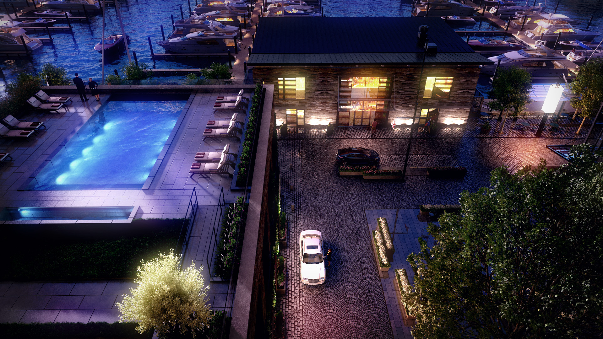 Wharf DC Vio Condo Pool Terrace