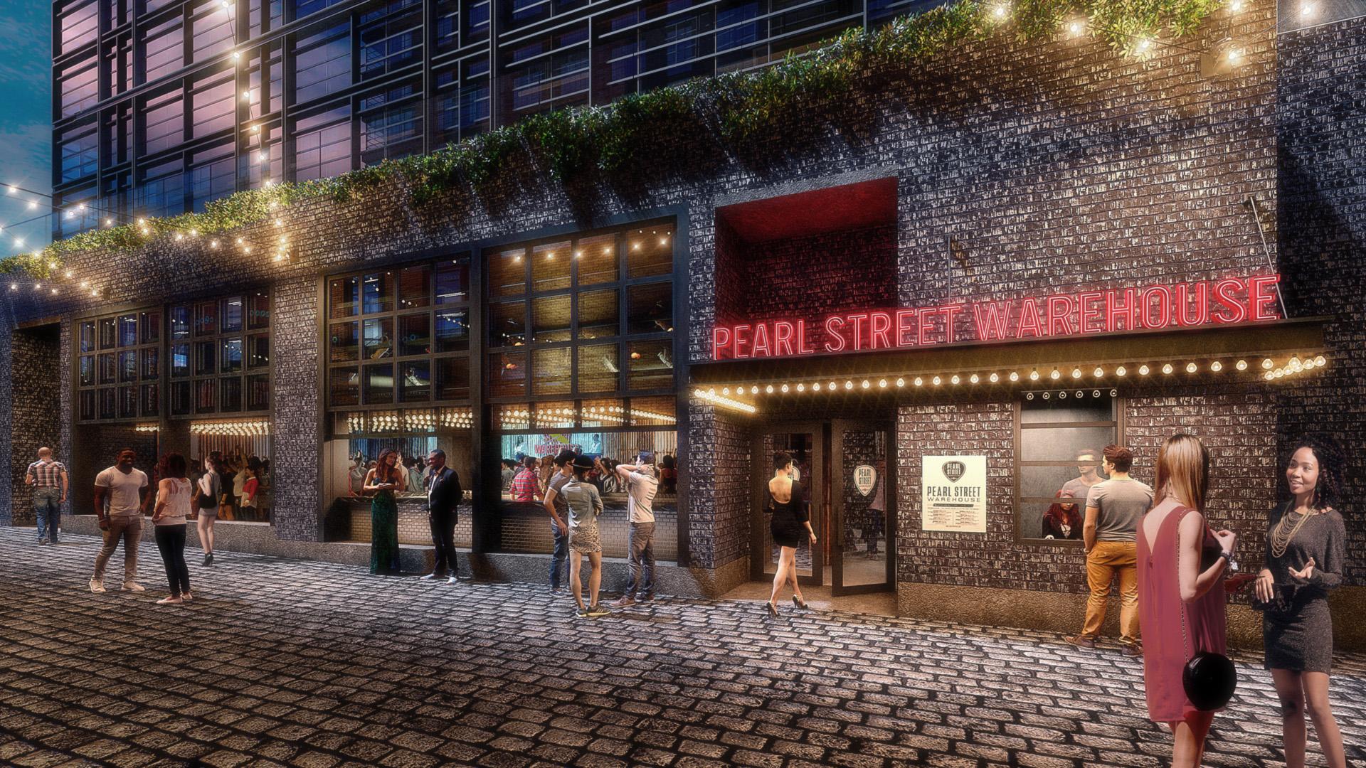 Wharf - Pearl street