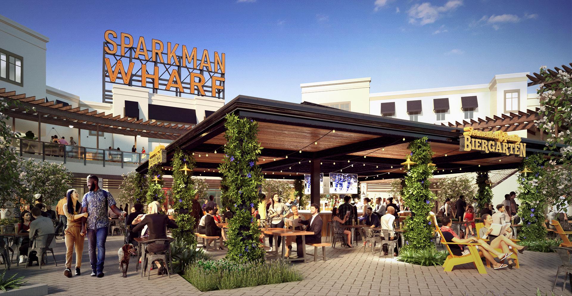 Sparkman Wharf Beer Garden