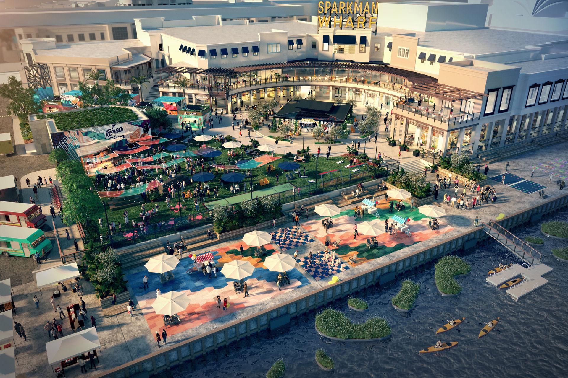 Sparkman Wharf Aerial