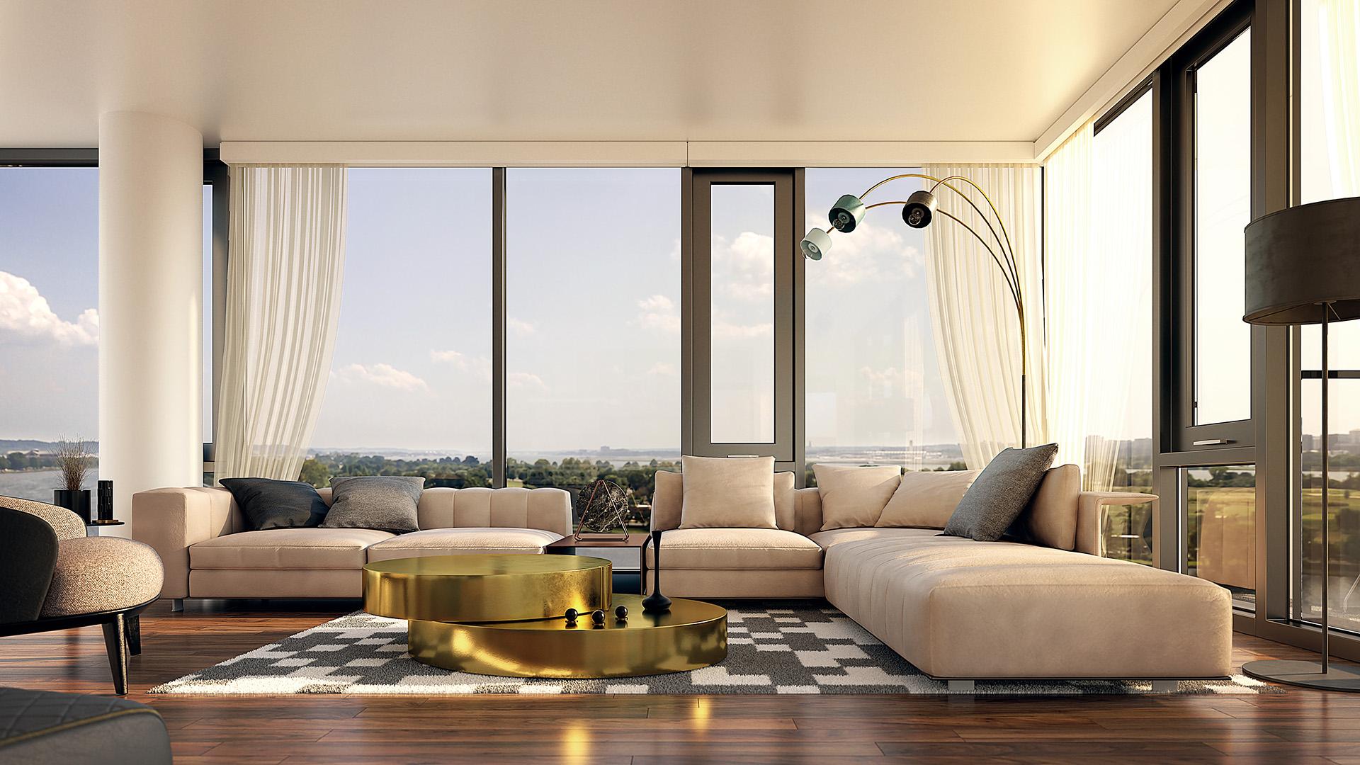 Conceptual Amari Living Room