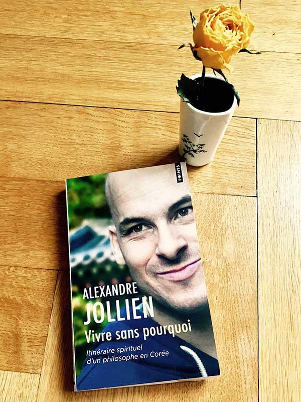 Blog Littéraire - Vivre sans pourquoi d'Alexandre Jollien - Suivre sa Joie - Saskia Parein