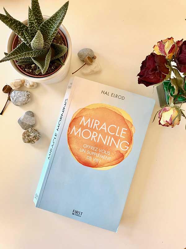 Blog Littéraire - Miracle Morning de Hal Elrod - Suivre sa Joie - Saskia Parein