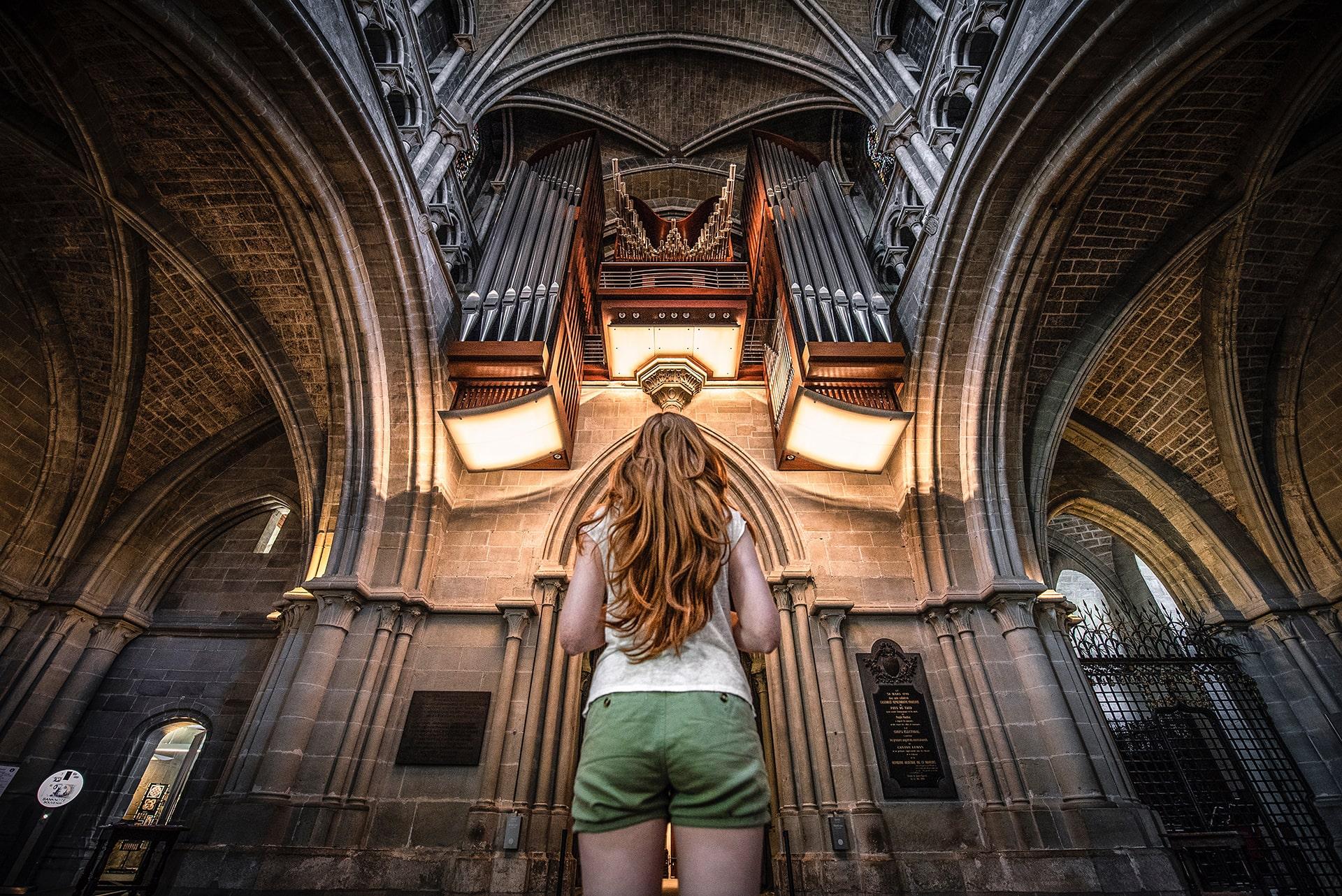 Blog Lifestyle - Le Majestueux orgue de la cathédrale - Suivre sa Joie - Saskia Parein