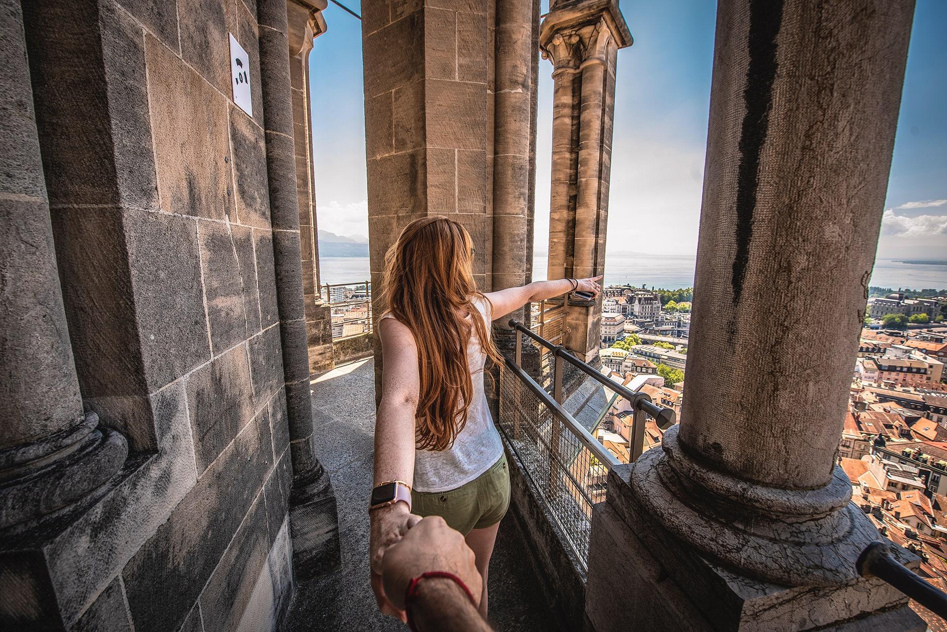 Blog Lifestyle - Une vue panoramique de Lausanne - Suivre sa Joie - Saskia Parein