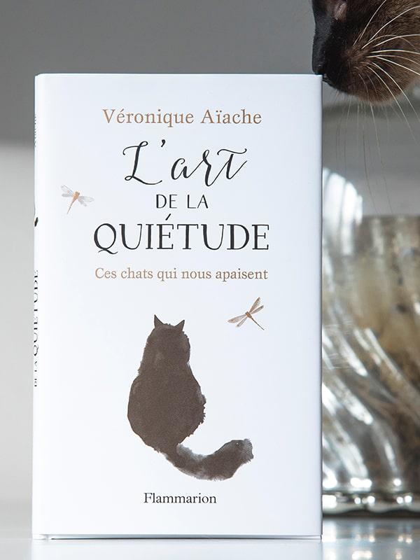 Blog Littéraire - L'art de la quiétude, ces chats qui nous apaisent de Véronique Aïache - Suivre sa Joie - Saskia Parein
