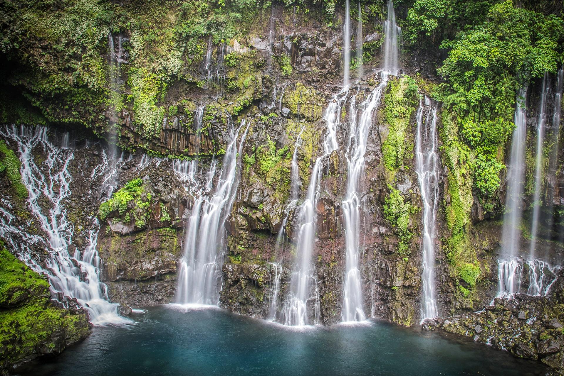 Les cascades de Langevin - Le duo de choc ! L'île Maurice et l'île de la Réunion - Suivre sa Joie - Saskia Parein