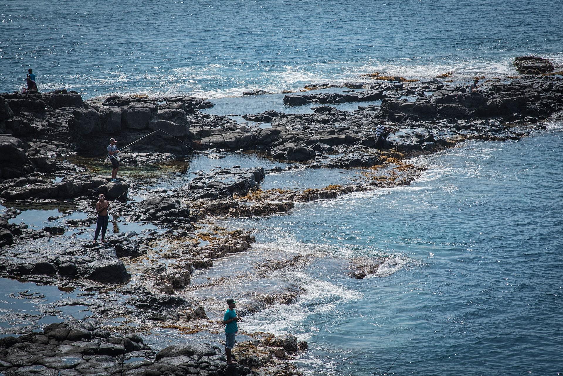 Les pêcheurs de l'îles de la Réunion - Le duo de choc ! L'île Maurice et l'île de la Réunion - Suivre sa Joie - Saskia Parein