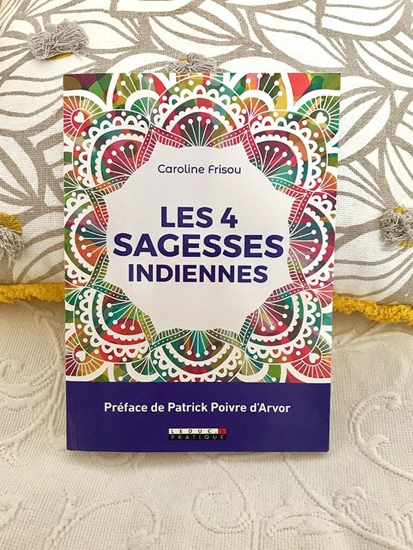 Blog Littéraire - Les 4 sagesses indiennes de Caroline Frisou - Suivre sa Joie - Saskia Parein