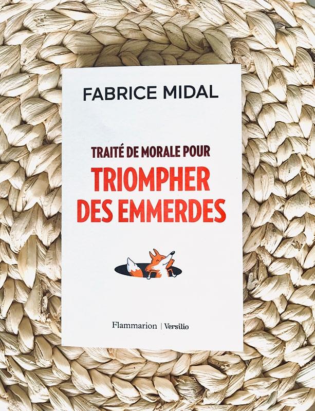 Blog Littéraire - Traité de morale pour triompher des emmerdes de Fabrice Midal - Suivre sa Joie - Saskia Parein