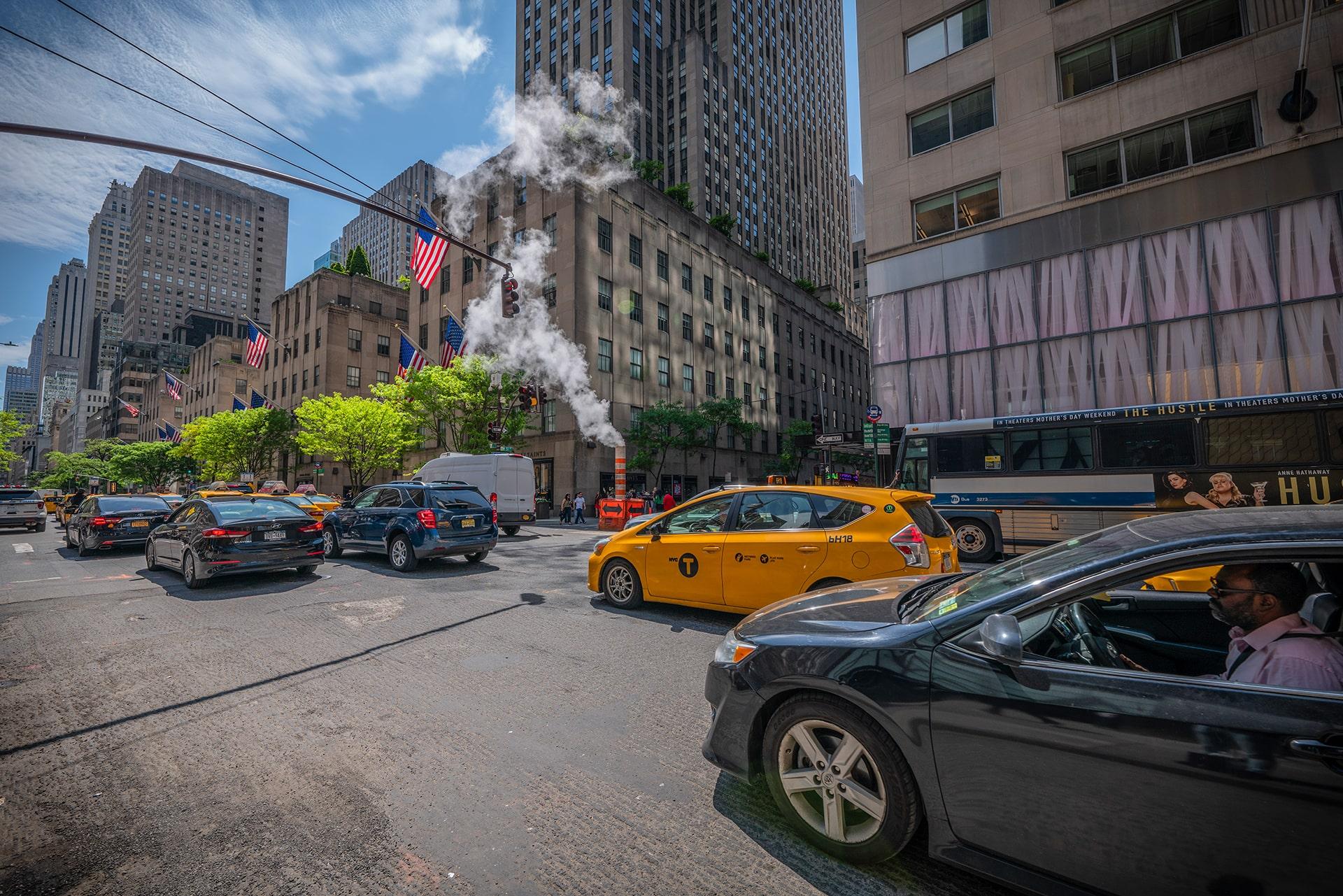 Blog Lifestyle - Le trafic dense de New York - Suivre sa Joie - Saskia Parein