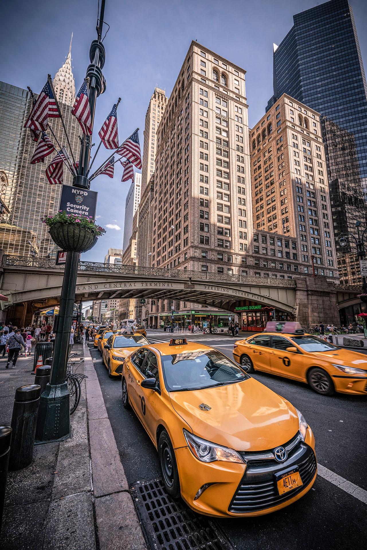 Blog Lifestyle - Les fameux Yellow Cars de New York - Suivre sa Joie - Saskia Parein