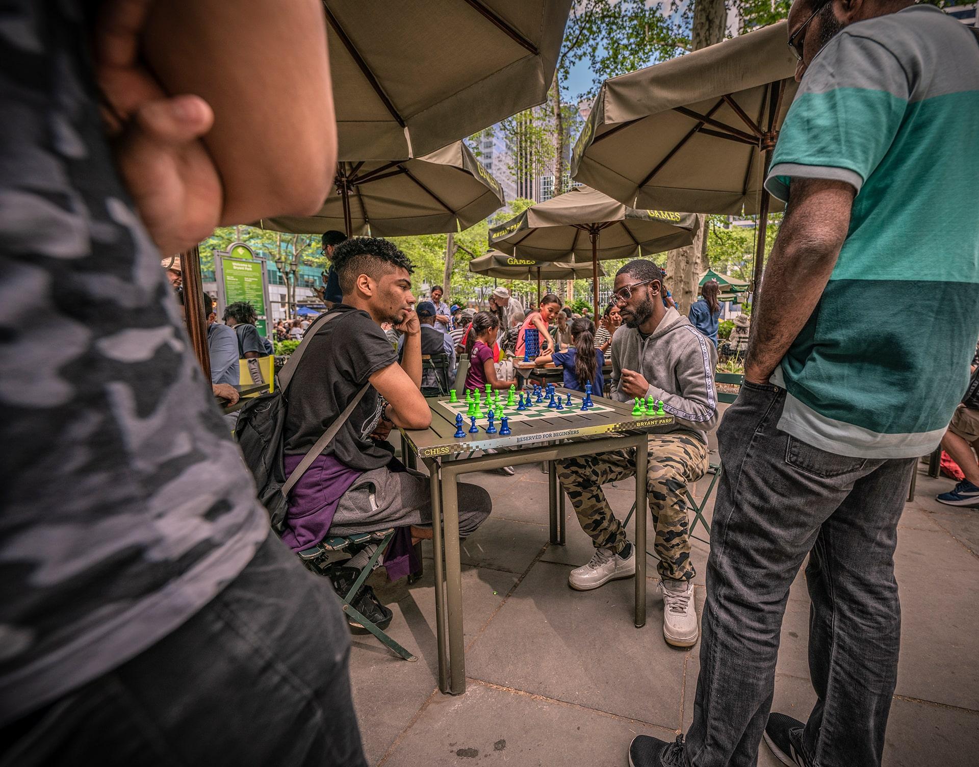 Blog Lifestyle - Jeux d'Echec à Central Park - Suivre sa Joie - Saskia Parein