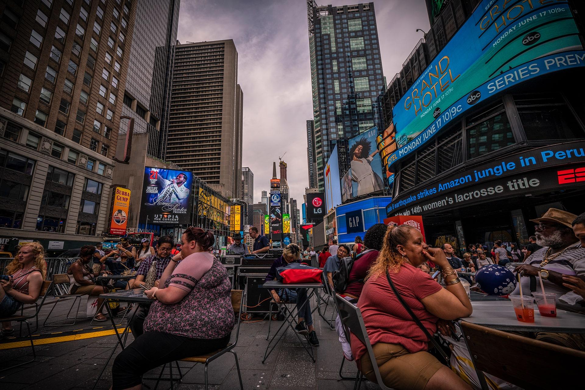 Blog Lifestyle - Time Square, New York - Suivre sa Joie - Saskia Parein