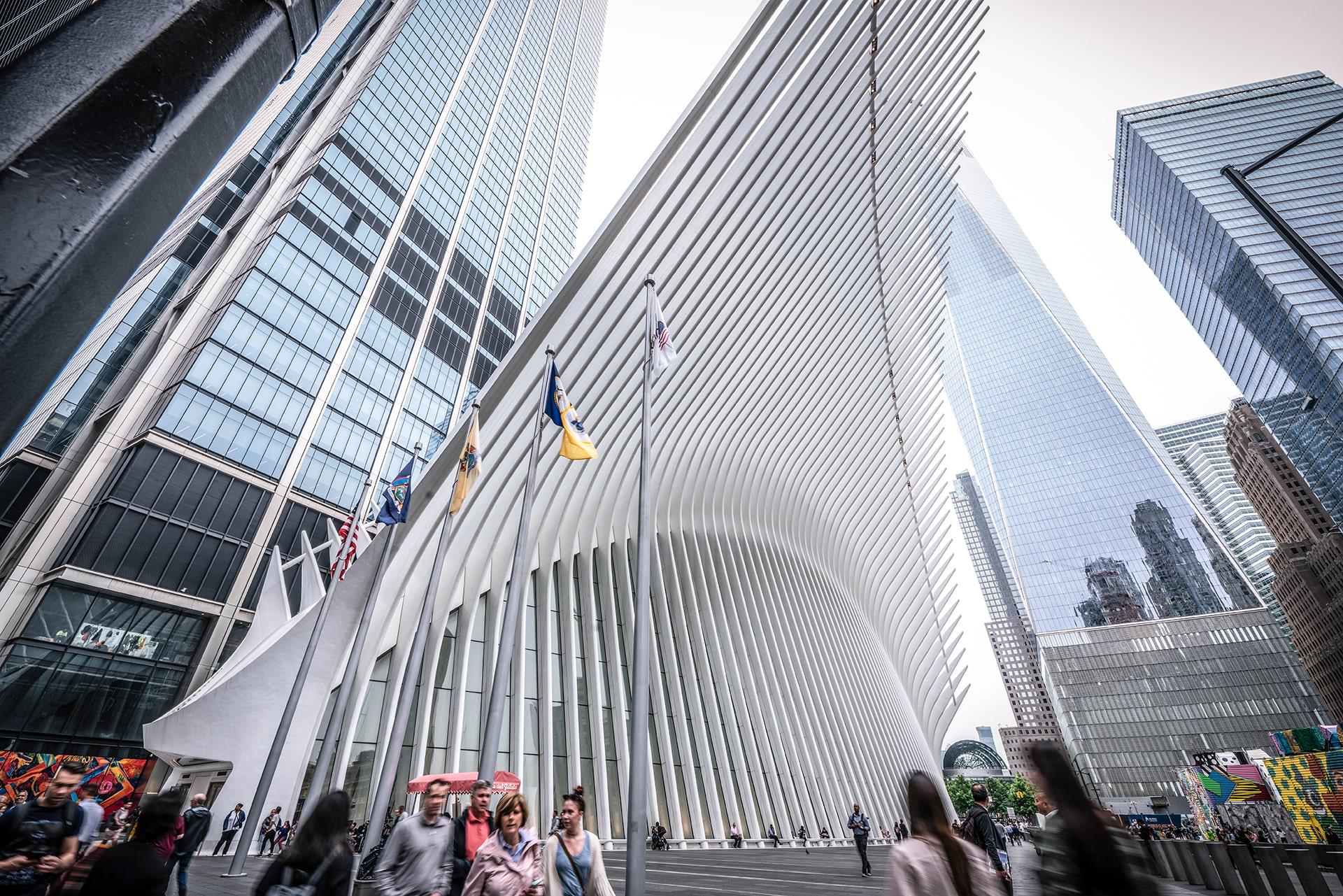 Blog Lifestyle - Gare The Oculus, un monument architectural impressionnant - Suivre sa Joie - Saskia Parein
