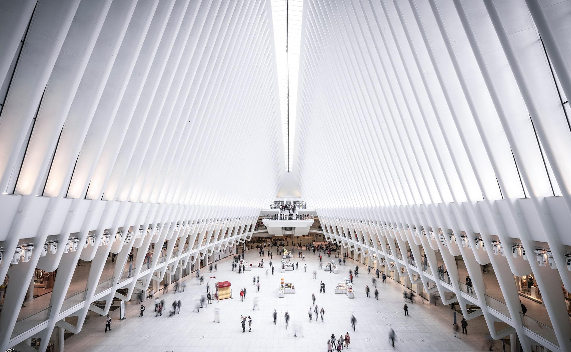 Blog Lifestyle - Intérieur de la Gare The Oculus, New York - Suivre sa Joie - Saskia Parein