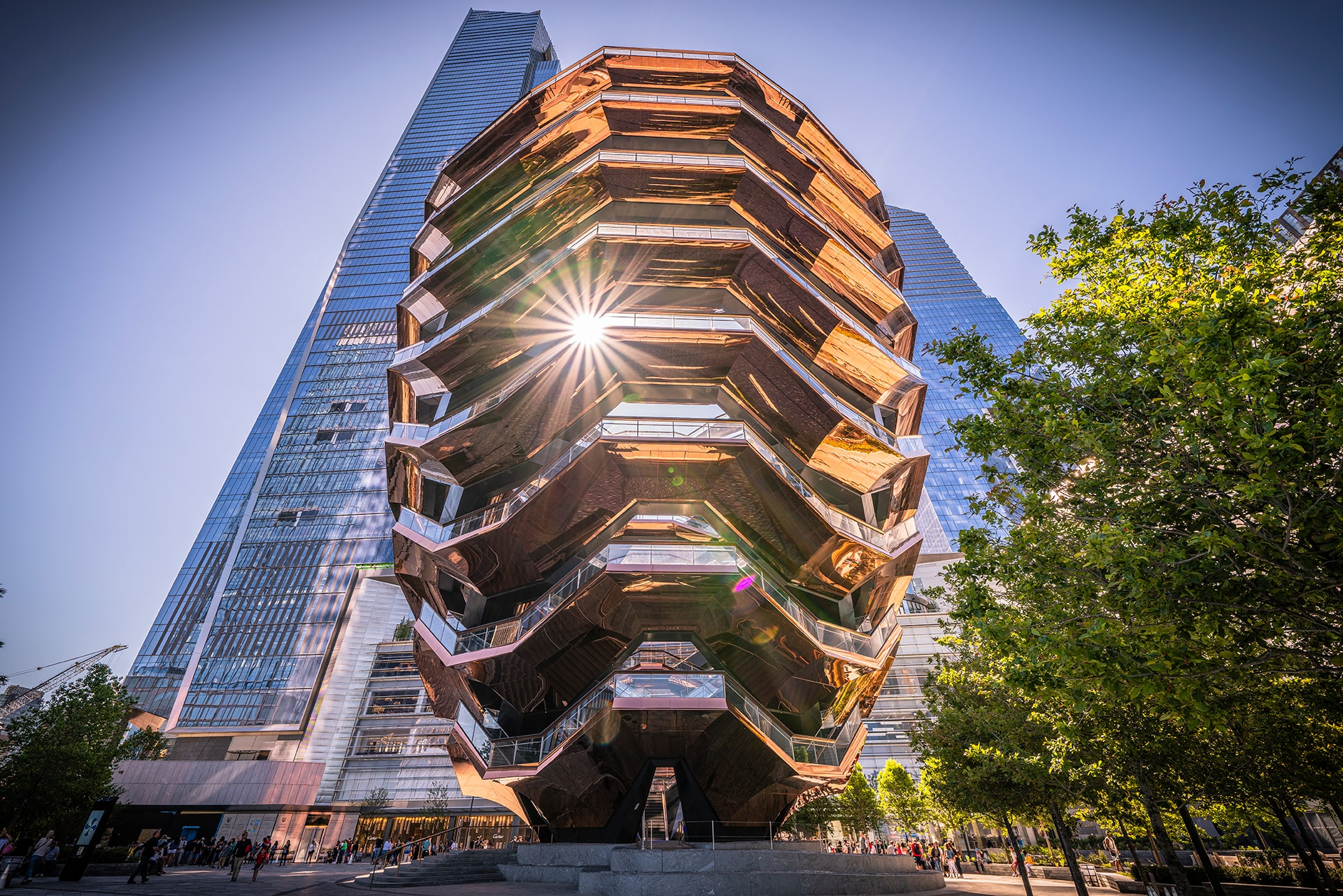Blog Lifestyle - Monument architectural, the Vessel, New York - Suivre sa Joie - Saskia Parein