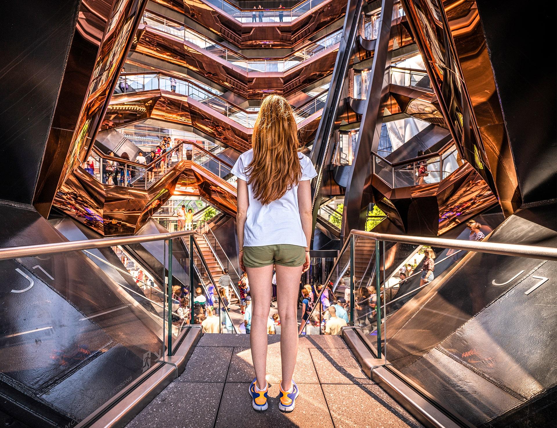 Blog Lifestyle - Intérieur de the Vessel, New York - Suivre sa Joie - Saskia Parein
