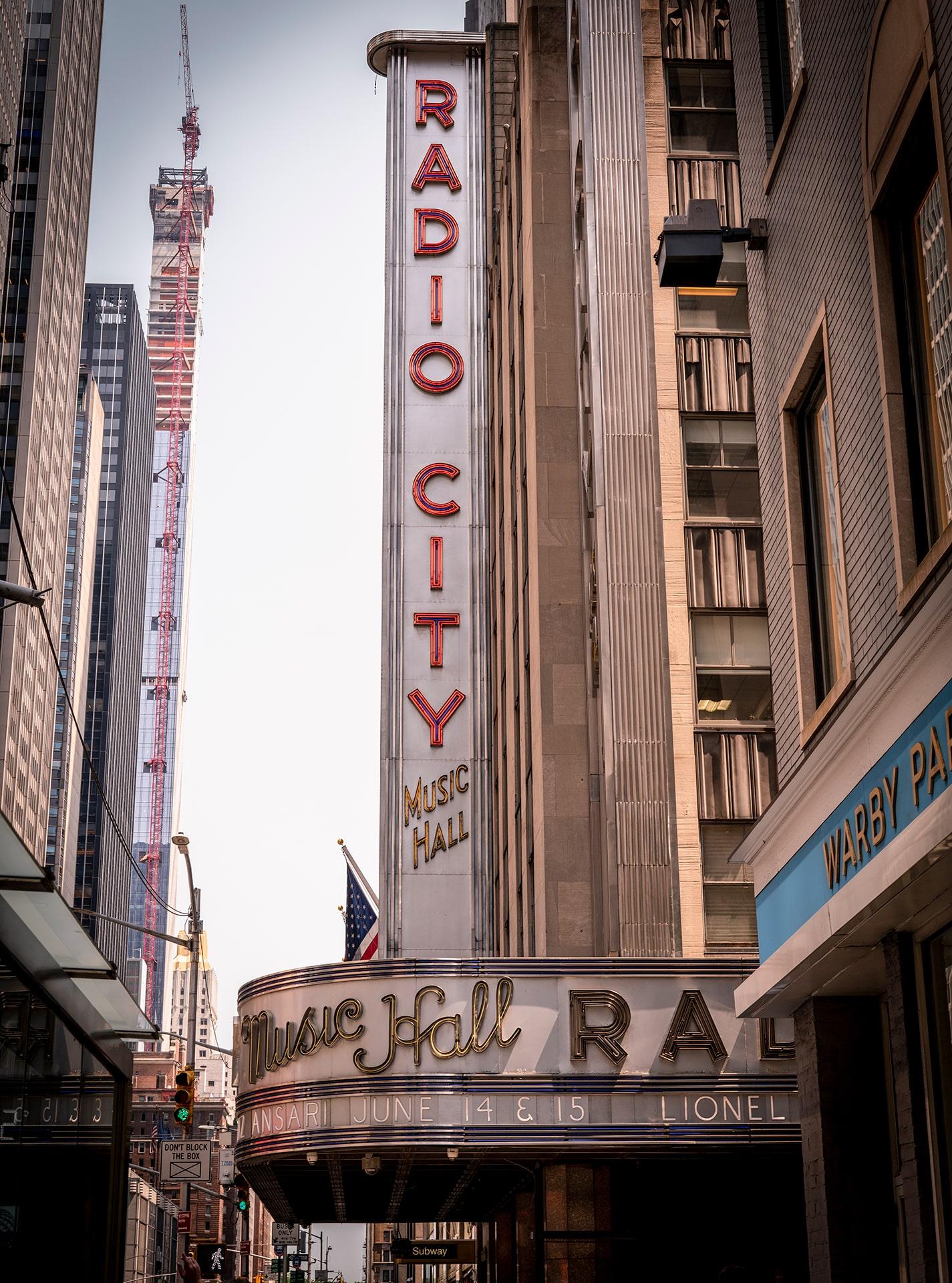 Blog Lifestyle - Radio City Hall Music, New York - Suivre sa Joie - Saskia Parein