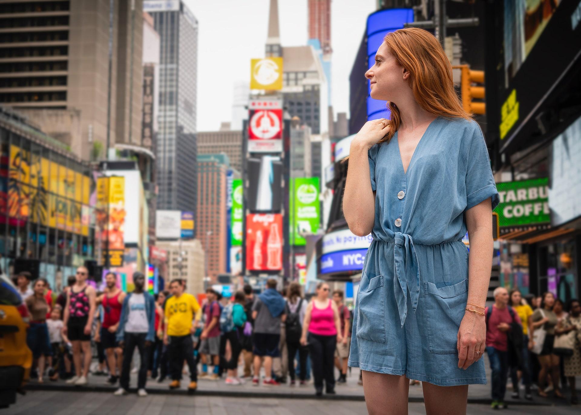 Blog Lifestyle - Suivre sa Joie sur Time Square - Suivre sa Joie - Saskia Parein