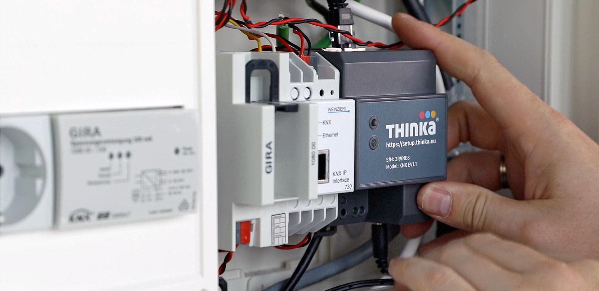 installing Thinka KNX image