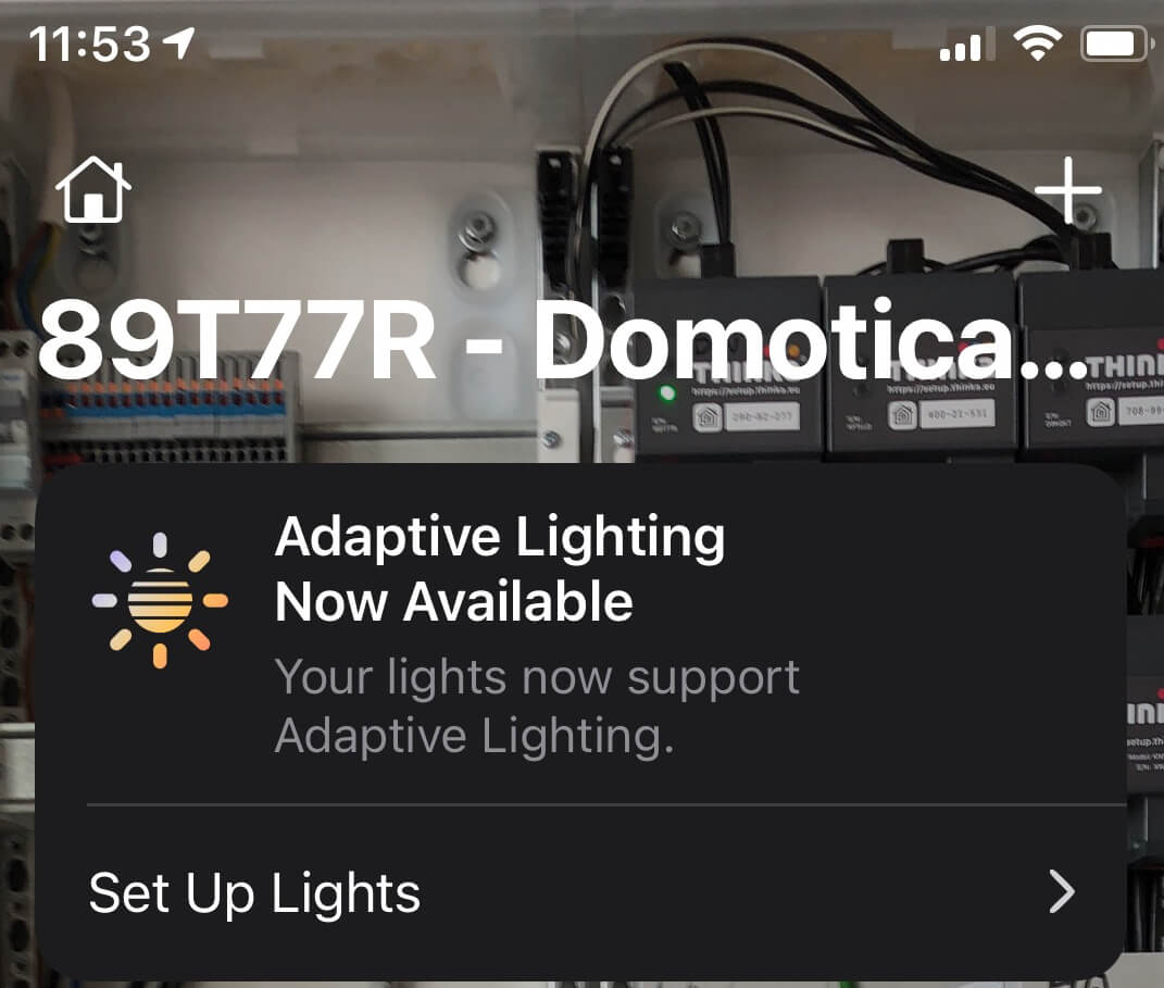 Adaptive Lighting now available image