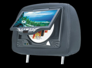dvd player in headrest