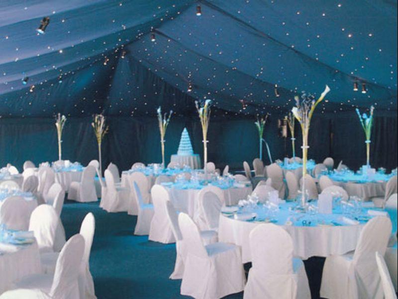 Blue Wedding Marquee