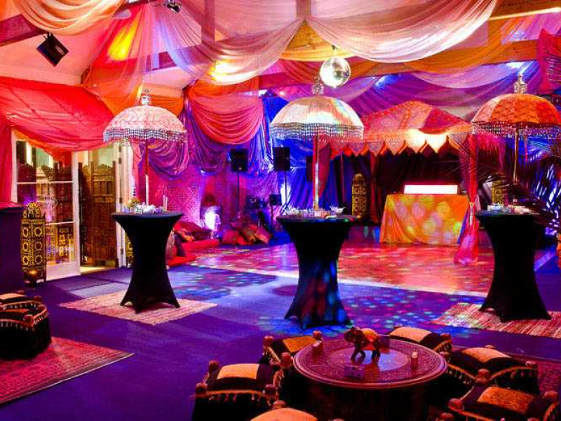 Bollywood Party Marquee