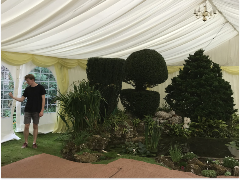 Country Garden Party Marquee