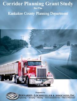 Corridor Planning Grant Study